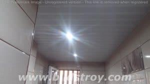 перфориран ламелен таван